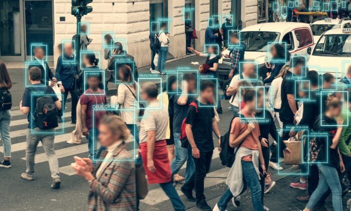 Objects and faces can be recognised in a crowd using artificial intelligence and machine learning. (Shutterstock)
