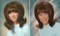 Grandma Recreates Her Iconic Flip Hairstyle Graduation Photos: 'Wonderful Moments'