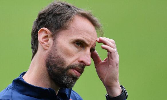 England's coach Gareth Southgate
