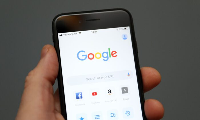 Google is planning an overhaul of how ads work on its popular Chrome browser in an undated photo.  (Andrew Matthews/PA)