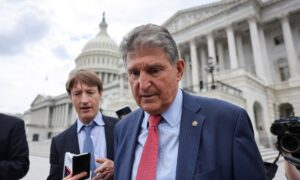 Manchin: It's 'Inevitable' Democrats Will Push Partisan Infrastructure Package