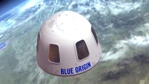 Blue Origin capsule