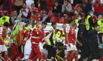 In Scary Scene at Euro 2020, Eriksen Collapses on the Field
