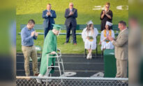High School Senior Paralyzed Playing Football Walks Across Stage During Grad Ceremony