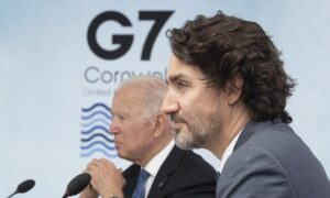 Trudeau To Discuss Foreign Policy With G7 Leaders at Second Day of Summit Meeting