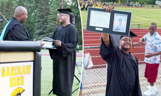 Michigan Dad Accepts Late Son's High School Diploma: 'It Was Such an Honor and Privilege'