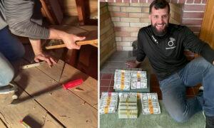 Video: Treasure Hunter Helps Family Find $46,000 Old Cash Hidden in Attic by Late Grandpa