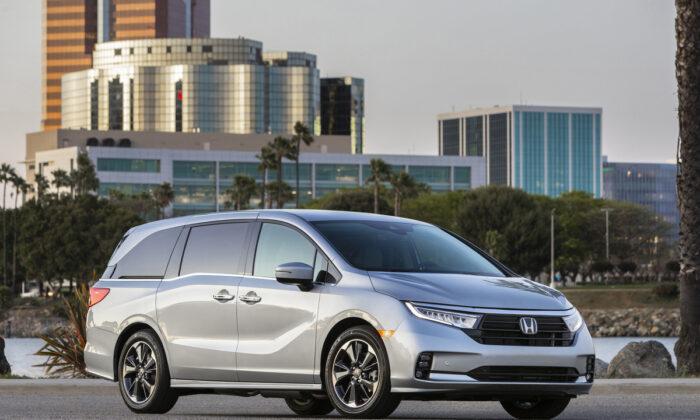 2021 Honda Odyssey minivan. (Courtesy of Honda)