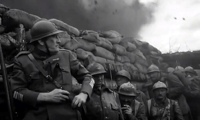 """Kirk Douglas plays the heroic Col. Dax in """"Paths of Glory."""" (United Artists)"""