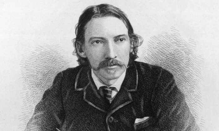 Robert Louis Stevenson, circa 1880, the Scottish writer who wrote the enduringly popular 19th-century novels as well as poetry. (Hulton Archive/Getty Images)