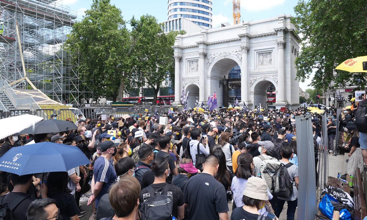 Hong Kong Rally London