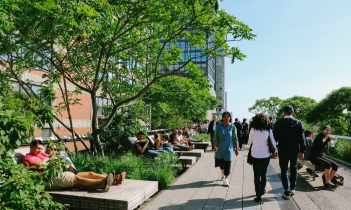 New research gives city planners more incentive and insight into how to incorporate green spaces into urban design. (lulu and isabelle/Shutterstock)