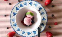 Berry-Yogurt Semifreddo