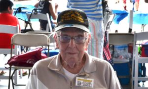 Pearl Harbor Veteran, 99, Recounts the 'Day of Infamy' at the WWII Weekend Event