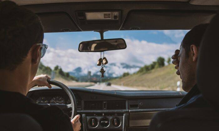 Friends driving. (Bertsz/Pixabay)