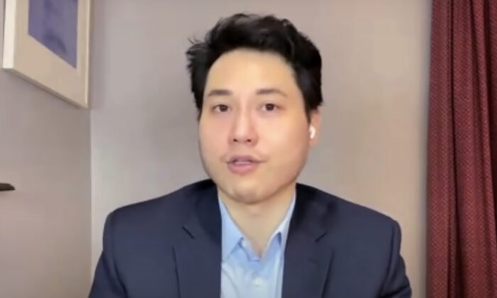 Independent journalist Andy Ngo during an interview with The Epoch Times in February 2021. (The Epoch Times)