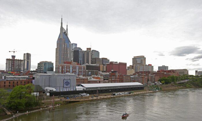 The skyline of Nashville, Tenn., on April 25, 2019. (Frederick Breedon/Getty Images)
