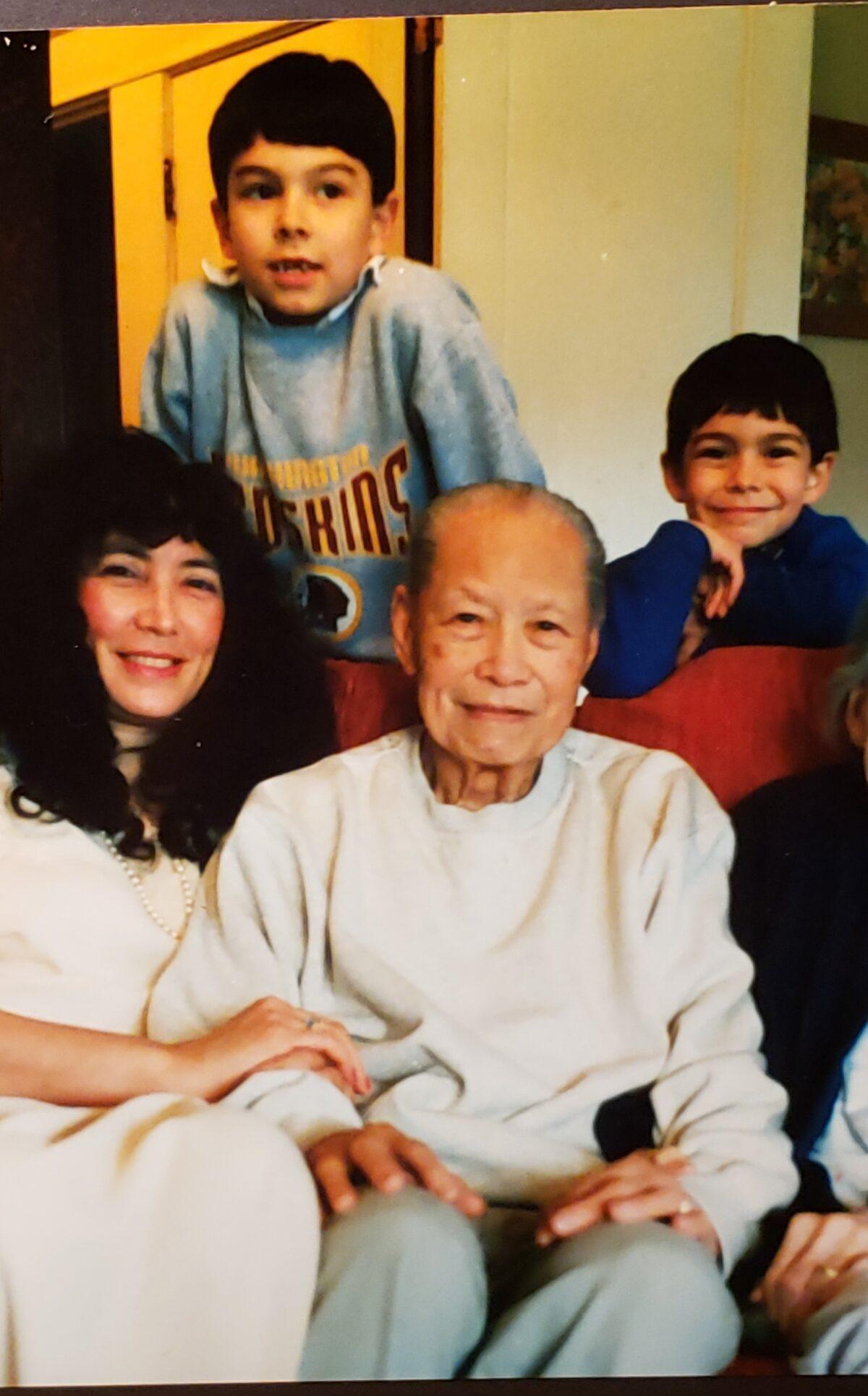 Photo 1_Dad Anita and boys