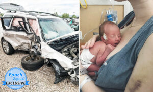 Mom Survives Car Wreck, Births Baby in Sac on Way to Hospital: 'Never Stop Being Grateful'