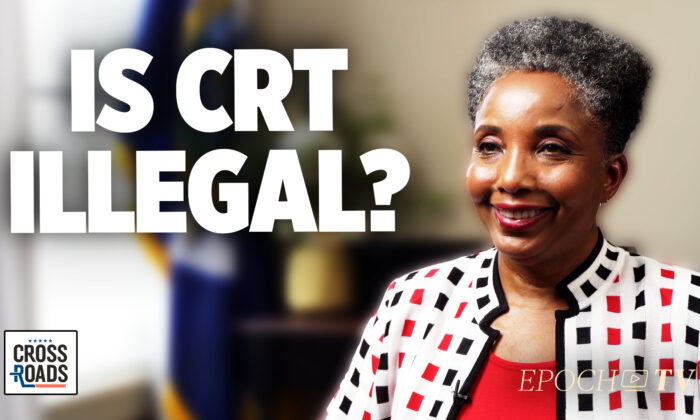 Dr. Carol Swain, a former professor of political science and law at Princeton and at Vanderbilt. (Crossroads / /Screenshot via The Epoch Times)