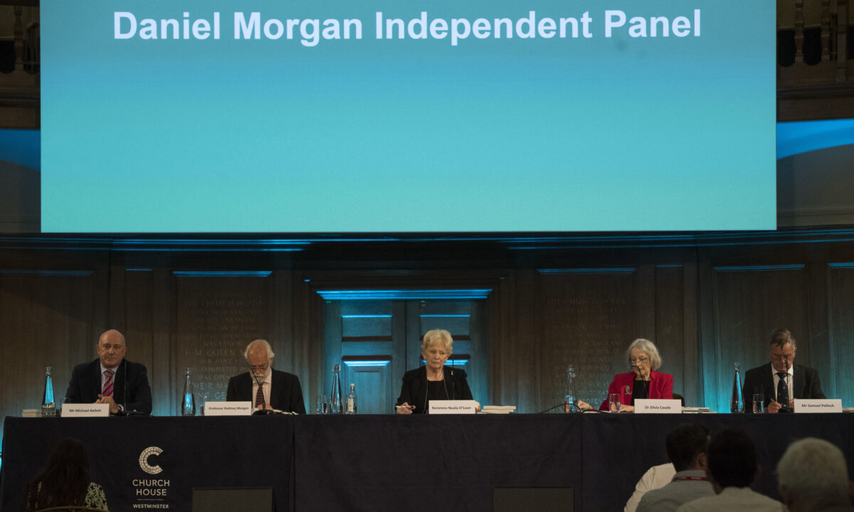 Daniel Morgan Independent Panel report