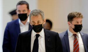 Sarkozy Tells Campaign Finance Trial the 'Cost of Flags' Was Not His Affair