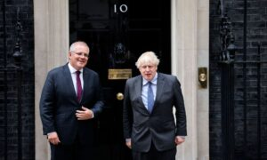 Australia, UK Inch Towards Free Trade Deal As Prime Ministers Meet