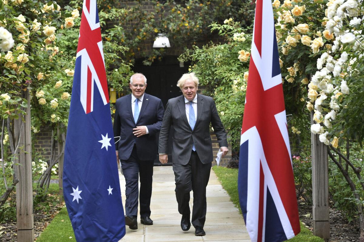 Britain Australia