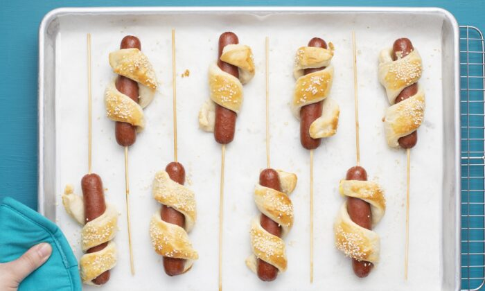 Kids will love this alternative to typical grilled hot dogs. (Kevin White/TNS)