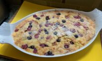 A Patriotic Bread Pudding to Celebrate Fourth of July