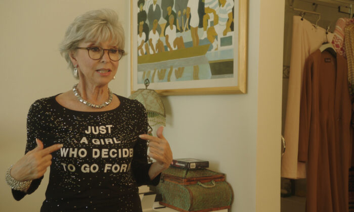 """Rita Moreno in the documentary """"Rita Moreno: Just a Girl Who Decided to Go for It."""" (Roadside Attractions)"""