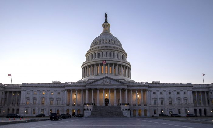 The Capitol Hill building in Washington in a file photo. (Samira Bouaou/The Epoch Times)