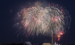 Fourth of July Travel to Exceed Pre-Pandemic Levels; Large Fireworks Displays Being Readied
