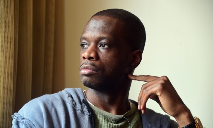 Grammy Award-winning rapper and founder of the hip-hop group Fugees, Pras Michel poses following an interview with AFP in Los Angeles on June 11, 2015. (Frederic J. Brown/AFP via Getty Images)