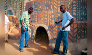 Photographer Visits Obscure African Village Where People Literally Live Inside Works of Art