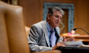 Manchin Declines to Guarantee Support for 2-Track Infrastructure Push