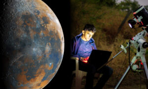 16-Year-Old Creates Incredible Image of the Moon Using 50,000+ Photos: 'It Almost Killed My Laptop'