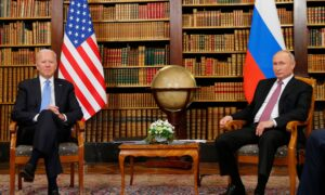 Biden-Putin Meeting Begins