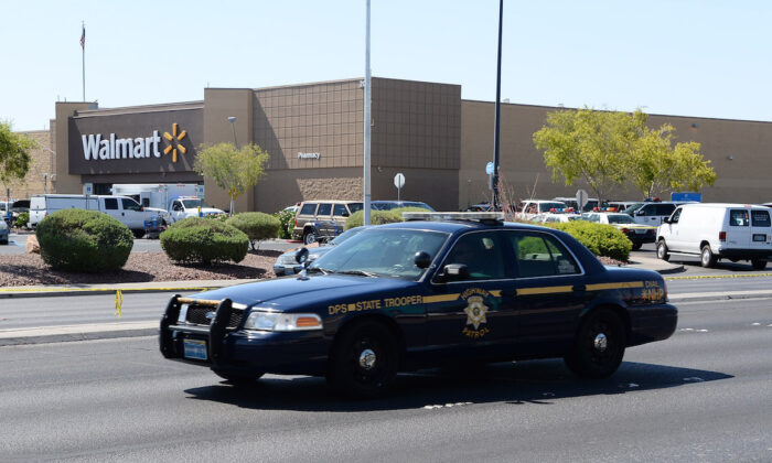 A Nevada Highway Patrol vehicle in Nevada. (Ethan Miller/Getty Images)