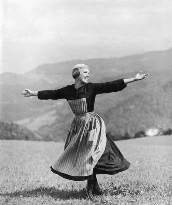 Julie Andrews in Sound of Music