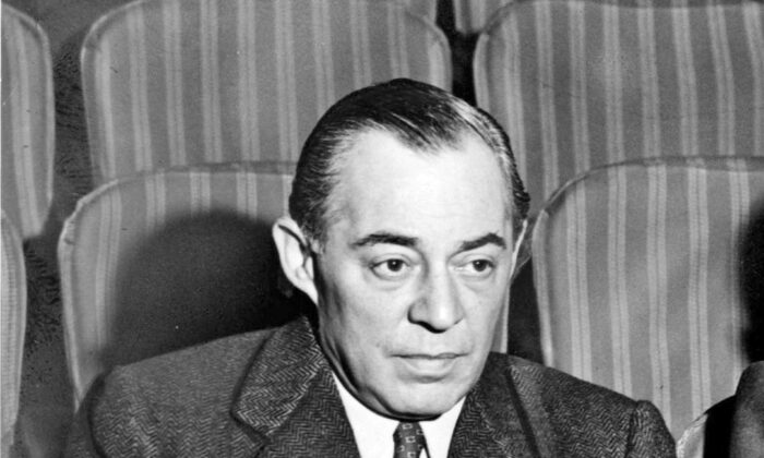 Richard Rodgers at the St. James Theatre in 1948. (Public Domain)