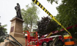 John A. Macdonald Statue Removed From Ontario's Kingston City Park