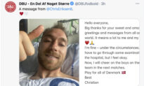 Christian Eriksen to Have Pacemaker Implanted; Denmark-Belgium Game Stopped for Tribute