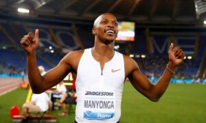 Long Jumper Manyonga Gets Four-Year Ban for Anti-Doping Violation