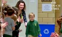 6-Year-Old Beats Cancer and Gets Standing Ovation From His Whole School