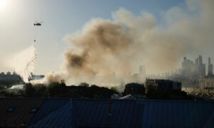 Blaze at Moscow Fireworks Warehouse Injures 4