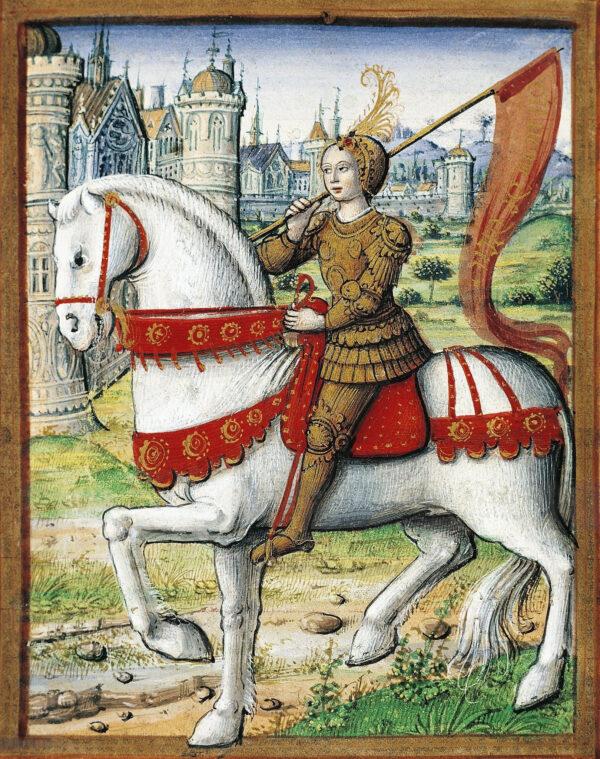 Joan of Arc from manuscript