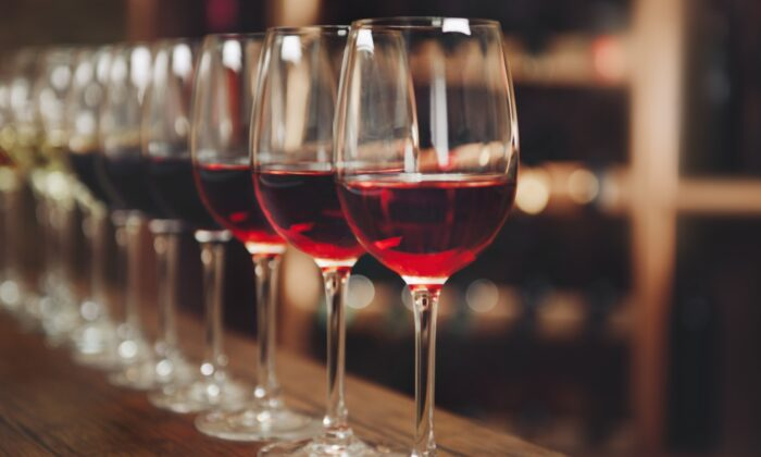 Red wines differ by grape variety, vineyard, and vintage. (Africa Studio/shutterstock)