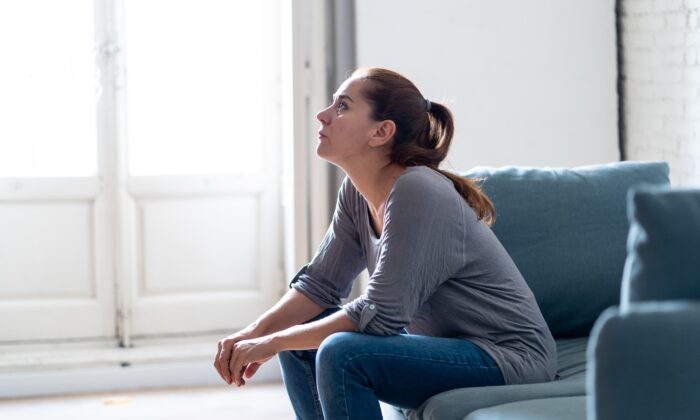 Depression takes a toll, so take back some control. (Sam Wordley/Shutterstock)