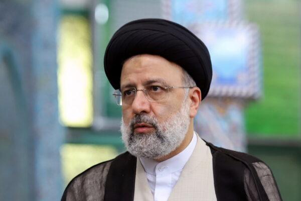 Presidential candidate Ebrahim Raisi